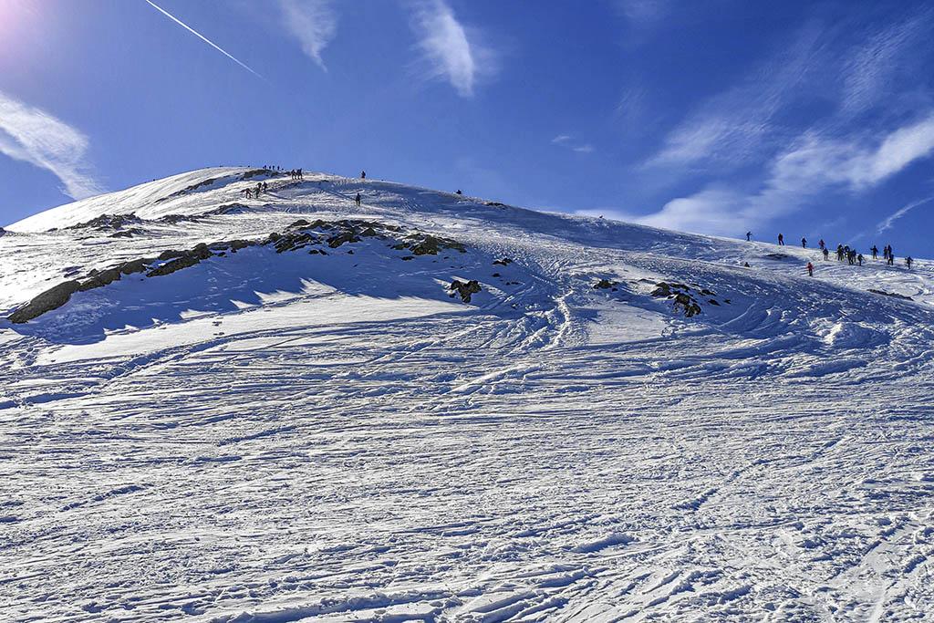 Excursión con raquetas: Pico Canal Roya, cresta hasta la cima