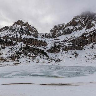 Excursión al Ibón de Piedrafita con raquetas de nieve