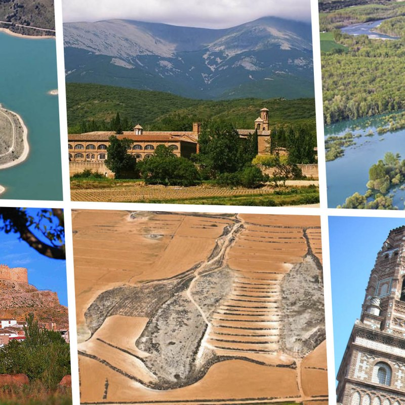 11 rutas para conocer la Provincia de Zaragoza