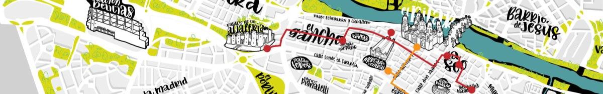 Mapa Interactivo Zaragoza Ciudad