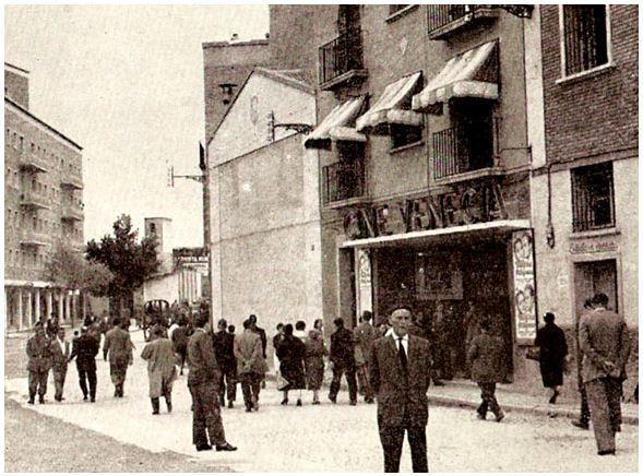 Antiguos cines de Zaragoza - Cine Venecia