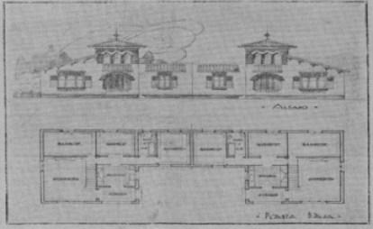 Planos edificios del centro de Zaragoza