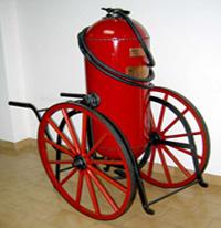 imagen del equipo personal de trabajo de bomberos