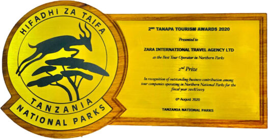 TANAPA TOURISM AWARDS 5