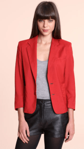 Red jacket by Urban Outfitters Renewal