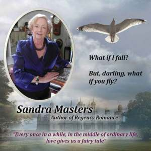 SAndra Masters shares her Regency Romance with Zara West