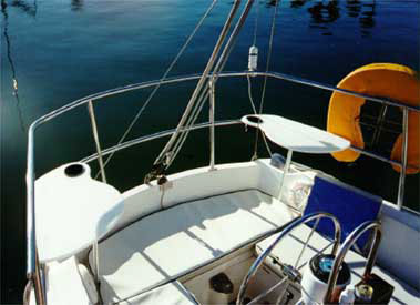 Zarcor Stern Perch Seats On A Catalina 30