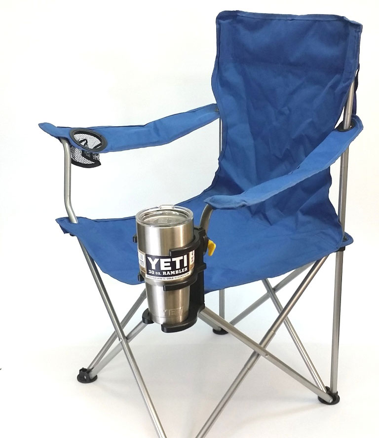 yeti folding chair floor mats for office chairs on carpet the universal tumbler holder will hold every kind of wine glass