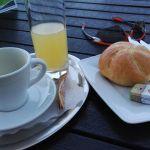 2. Frühstück im Cafe Pur