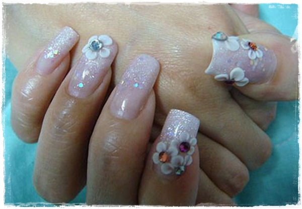 Acrylic Nail Art Designs 509 Fake 1