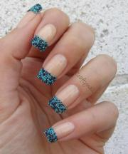 gorgeous french tip nail design