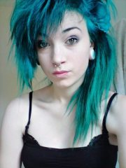 sexy & expressive emo hairstyles