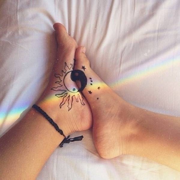 20 Moon Couple Tattoos Ideas And Designs