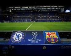برشلونة يعود من لندن بتعادل ثمين مع تشيلسي, دوري أبطال أوروبا 20-2-2018 ، ملخص المباراة ، الأهداف