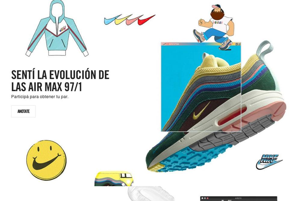 Nike anuncia sistema de sorteo para comprar las Nike Air Max