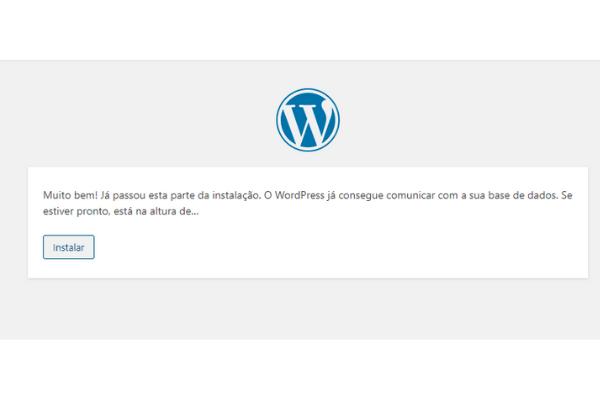 acessando o wordpress instalado no cpanel 4