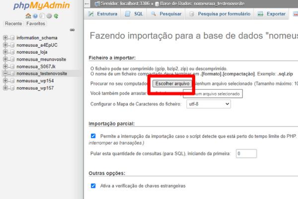 importar-banco-de-dados-phpmyadmin-escolher-arquivo