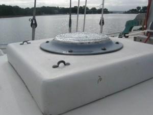 A waterproof, inexpensive skylight