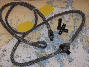 Sailboat Rigging: Toggles and Strops
