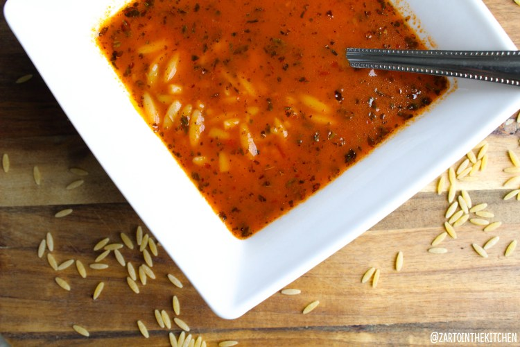 Vermicelli soep (sehriye corbasi)