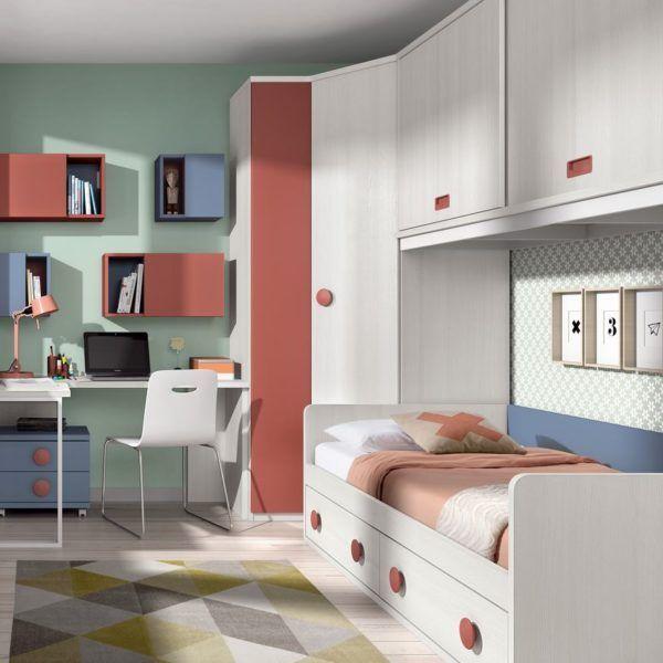 habitacin juvenil cama nido zas5000100282  Zasmobel