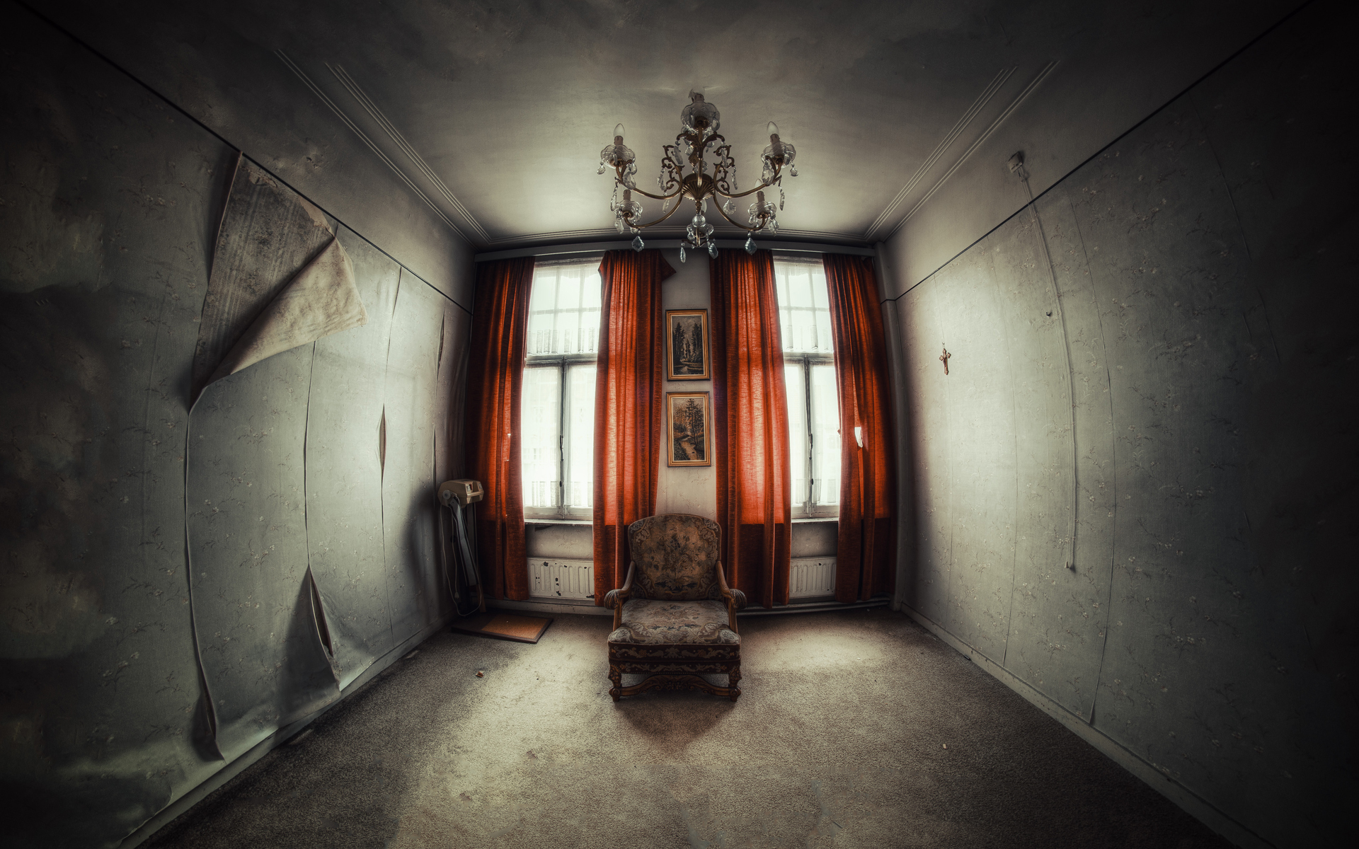 Abandoned room wallpapers and images  wallpapers