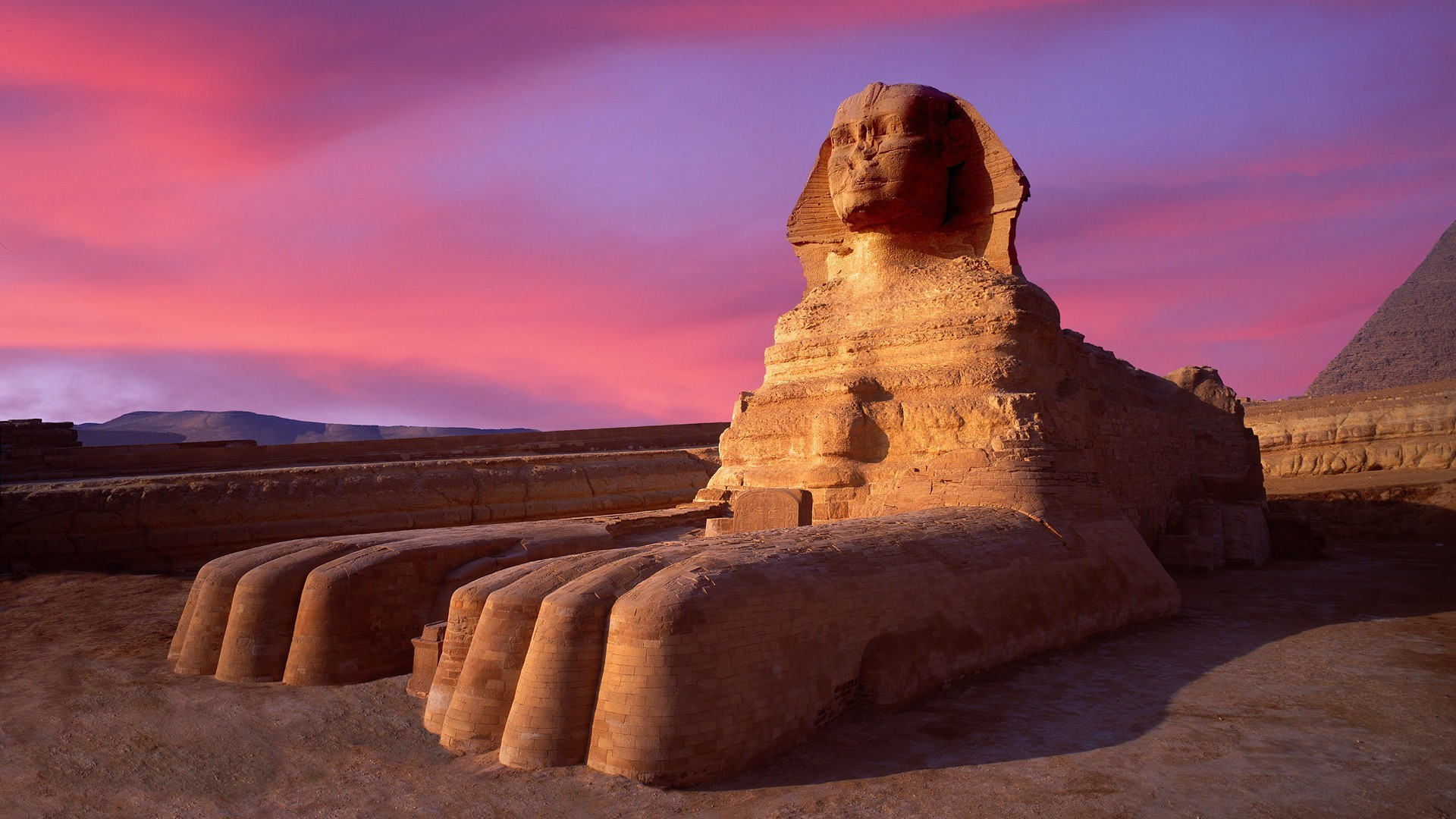 Image result for sphinx in the desert