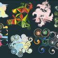 科学 幾何学模様