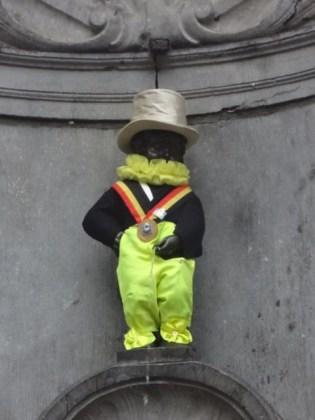 ブリュッセル に ある ジュリアン坊や 像