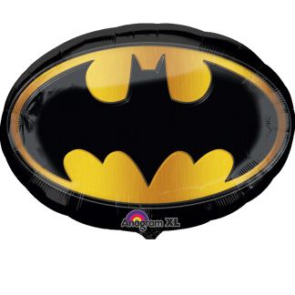 Folienballon Batman Logo Heliumballon