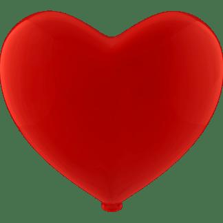 Luftballon Heliumballon Herz Rot