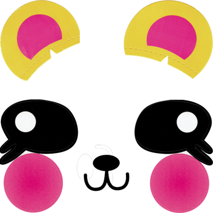 Ballonaufkleber Bär