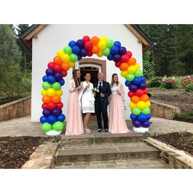 Ballonbogen Hochzeit Saarland Rheinland Pfalz