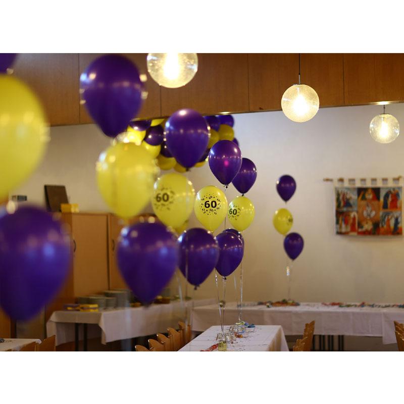 Ballonbouquets Ballons Tischdekoration Heliumballons Saarland Rheinland Pfalz