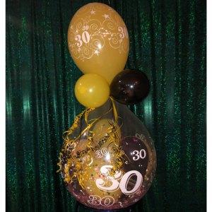 Geburtstagsballon zum 30. Geburtstag!
