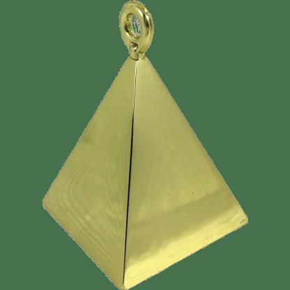 Ballongewicht Pyramide Gold 110g