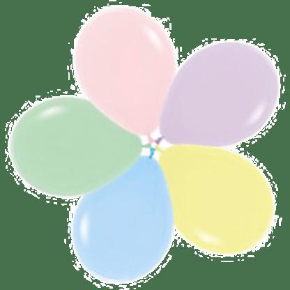 Sempertex Ballons Fashion Pastell Sortiment