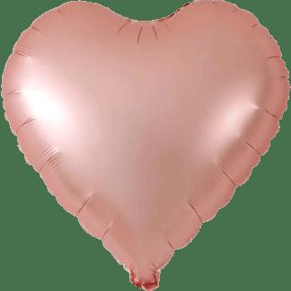 Herzballons Folie