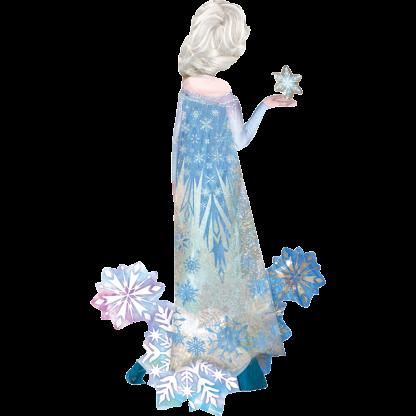 Frozen Eiskönigin Figur Airwalker Heliumballon Folienballon
