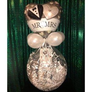 Hochzeitsballon Geschenkballon Ballongeschenk