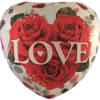 Ballon Liebe Love You Folienballon Bubble Rosen Herz Qualatex