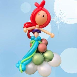 Meerjungfrau-Mairmaid-Arielle-Ballonfigur-Ballons-Saarland-Rheinland-Pfalz-Homburg-Neunkirchen-Saarbrücken-Birkenfeld
