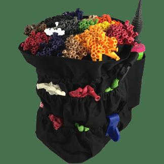 Ballontasche Modellierballons Professional Aufbewahrung Tasche Schwarz