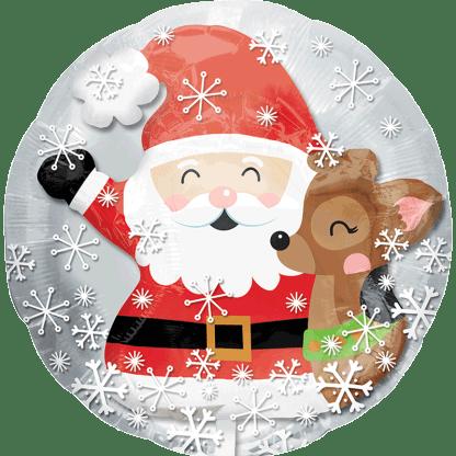 Weihnachten Weihnachtsmann Rentier