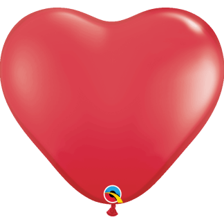 Qualatex Herzballons 90 cm
