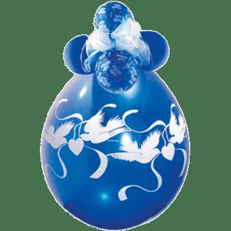 Qualatex Verpackungsballon Hochzeitstauben Turteltauben
