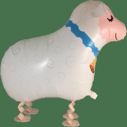 Schaf Folienballon Kinder Airwalker