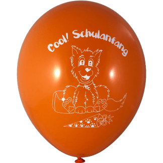Cool Schulanfang 30 cm Orange