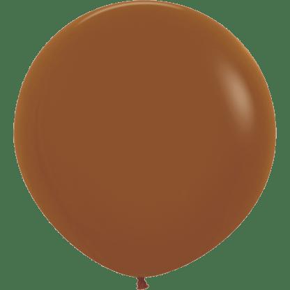 Sempertex Rundballon 90 cm Caramel