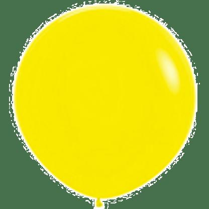 Sempertex Rundballon Yellow